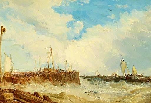 Webb James - On The Coast Of Holland 1876