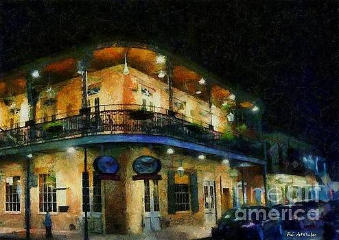 On the Corner of Chartres by RC deWinter