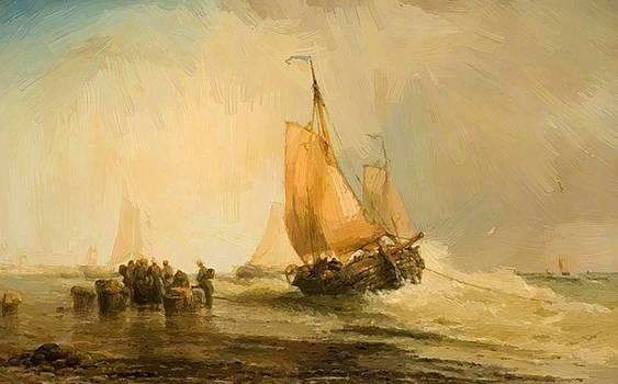 Webb James - On The Dutch Coast