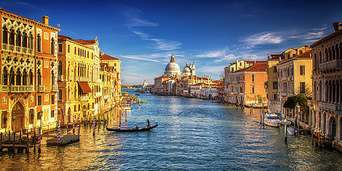 On the Grand Canal by Andrew Soundarajan