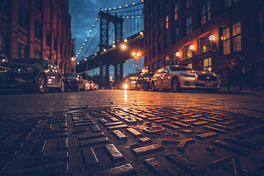 On The Ground In Dumbo by Andrew Zuber