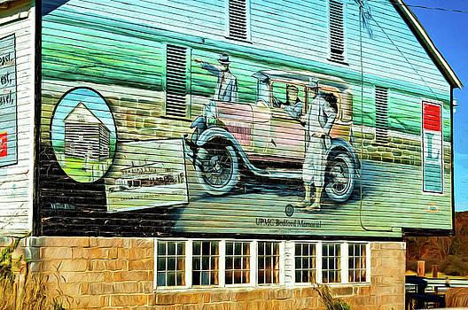 Steve Harrington - On the Lincoln Highway 2 - Paint