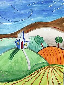 On the Prairie by Mela Lucia
