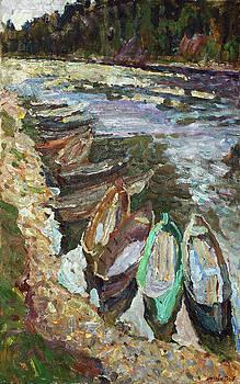 On the river Chusovaya by Juliya Zhukova