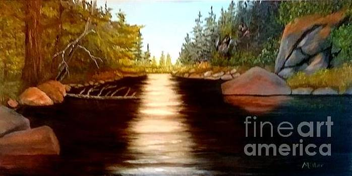 On The River by Peggy Miller