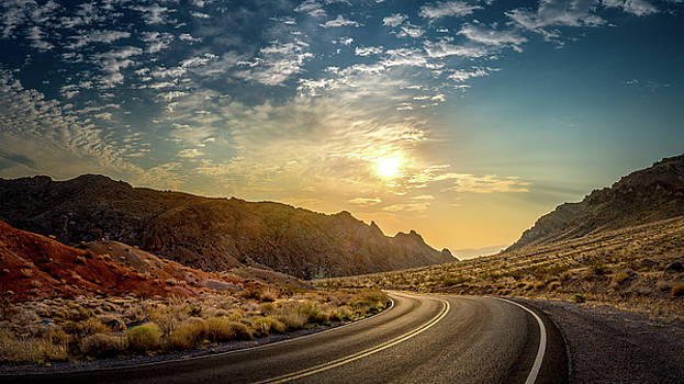On the Road Again by Yves Keroack