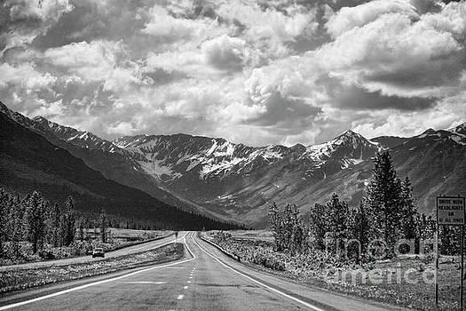 Chuck Kuhn - On the Road Alaska BW
