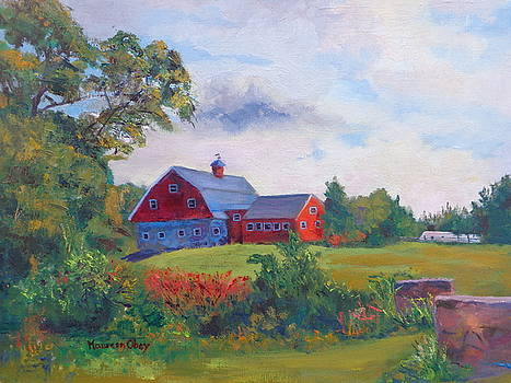 On the Road to Nantasket by Maureen Obey
