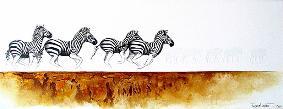 On The Run by Tracey Armstrong