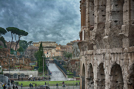 On the trail of the old Romans by Joachim G Pinkawa