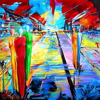 On The Way by Eberhard Schmidt-Dranske