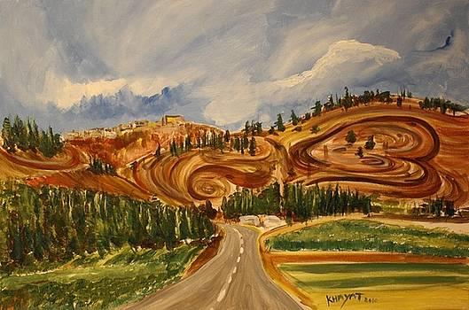 On The Way To Nazareth by Marwan  Khayat