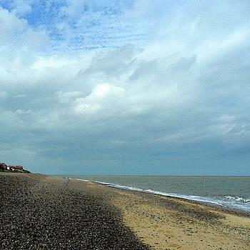 On Thorpeness Beach by Anne Kotan