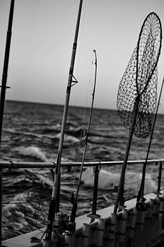 On to fish in black and white by Terepka Dariusz