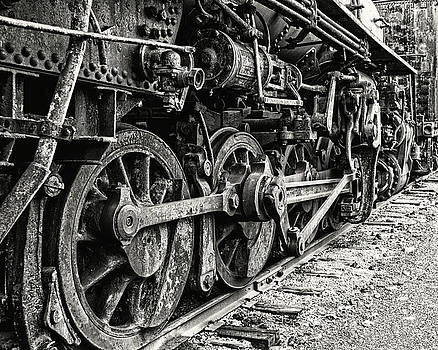 On Track in Black and White by Emily Kay