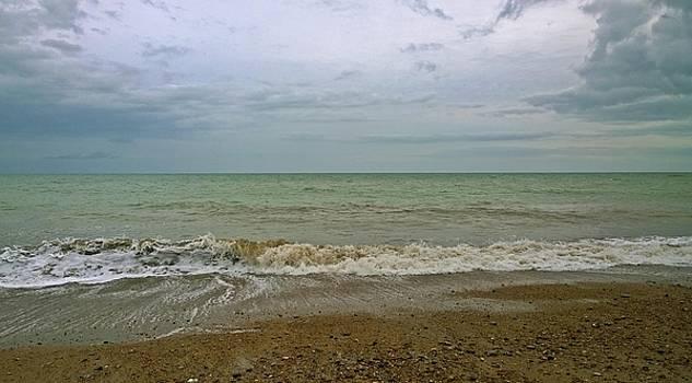 On Weymouth Beach by Anne Kotan