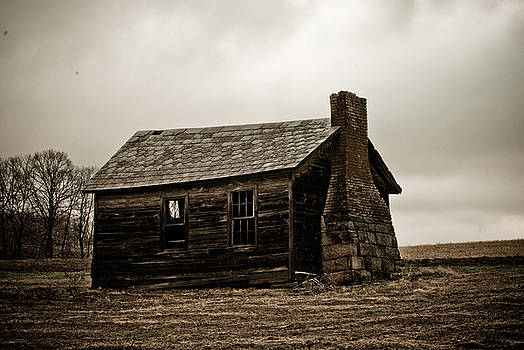 Once A Farmers Home by Tony  Bazidlo
