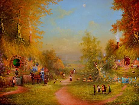The Shire Once Upon A Time  by Joe Gilronan