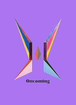 Oncoming text by Michael Bellon
