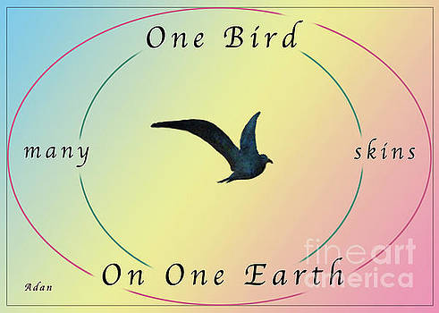 Felipe Adan Lerma - One Bird Poster and Greeting Card v2
