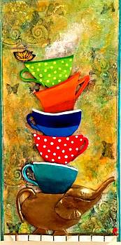 One Cup at a time by Raya Finkelson