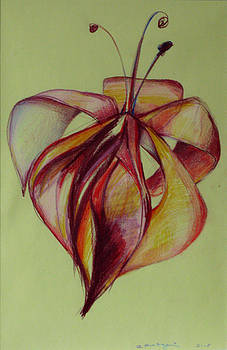 One Flower by Cristina Rettegi