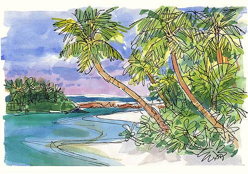 Judith Kunzle - One-Foot-Island, Aitutaki