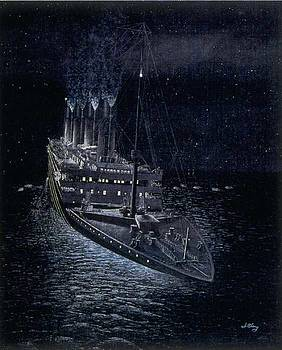 One forty am Titanic Time by Jim Clary