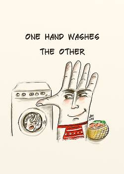 One hand washes the other by Ana Dragan