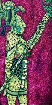 One Man Army King Jaguar  by Heriberto  Luna