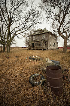 One man's trash... by Aaron J Groen