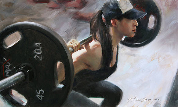 One More Rep by Anna Rose Bain
