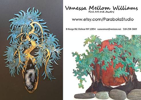 One of a kind Metal Sculpture by Vanessa Williams