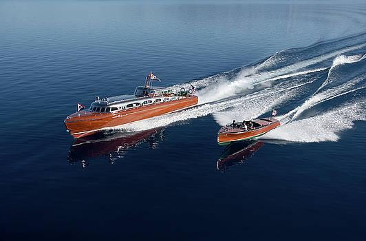 Iconic Thunderbird Yacht by Steven Lapkin