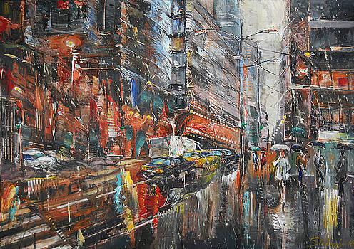 One Rainy Evening by Stefano Popovski