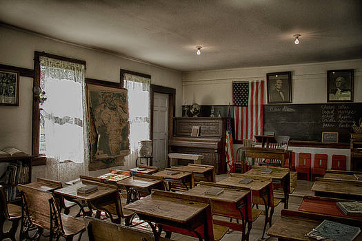 One Room Schoolhouse by Debby Richards