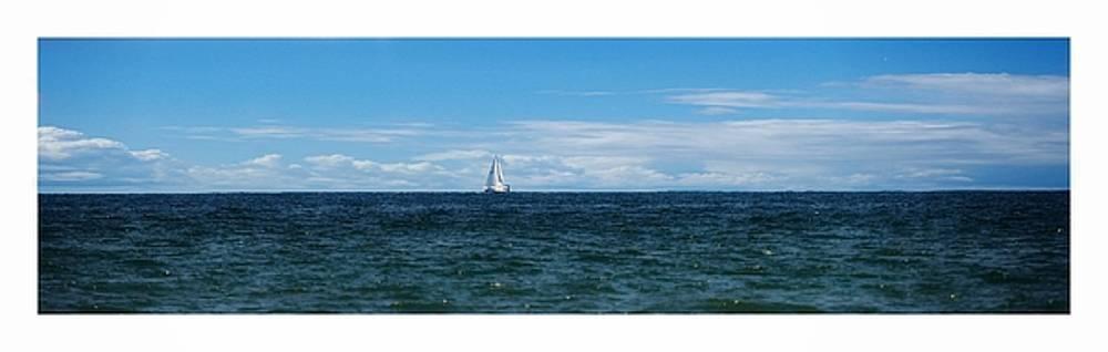 One Sailboat by Scott Fracasso