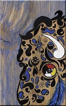 One Tribal Bison by Minnie Lippiatt