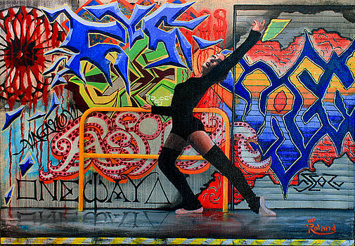 One Way Up Dancer by Tracy Dupuis Roland