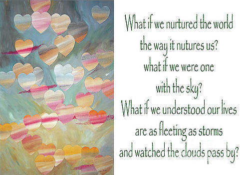 One with the Sky - with Poem by Jeni Bate