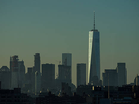 One World Trade Center Dawn by Alan Roberts