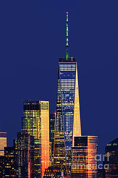 Regina Geoghan - One World Trade Topped in Green
