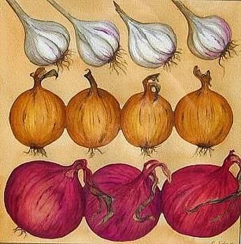 Onions and Garlic by Elizabeth H Tudor