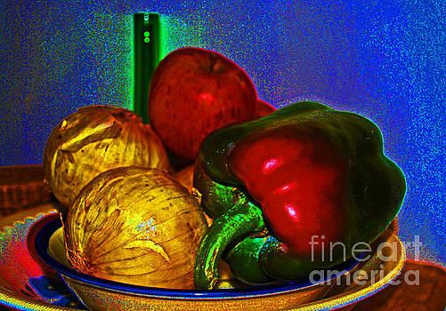George D Gordon III - Onions Apples Pepper