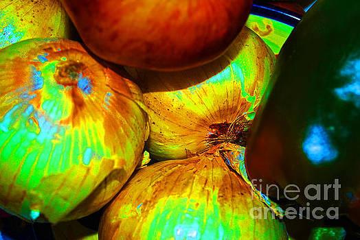 George D Gordon III - Onions Apples Pepper Closeup
