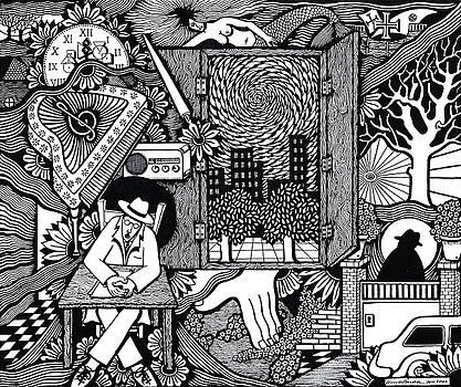 Only I keep watch sleepy listening by Jose Alberto Gomes Pereira