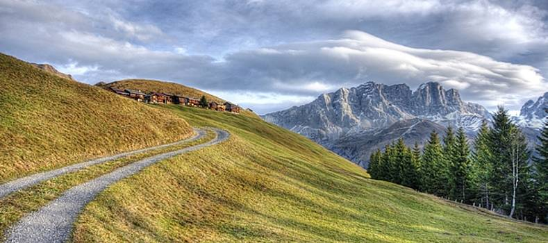 Only in the Swiss Alps by Quality HDR Photography