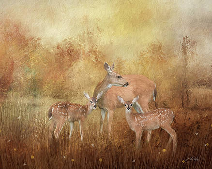 Only Love Can Do That - Wildlife Art by Jordan Blackstone
