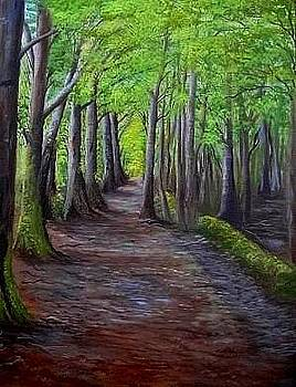 Only The Woods Know by Fineartist Ellen