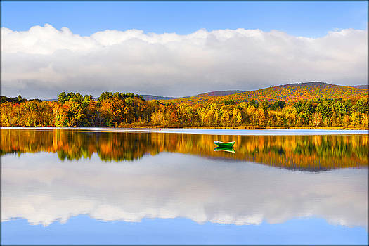 Autumn Reflection by Michael Bufis